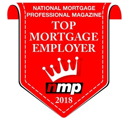 National Mortgage Professional Magazine Top Mortgage Employer 2018 Logo
